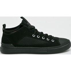 Converse - Tenisówki. Czarne trampki męskie Converse, z materiału, na sznurówki. Za 299,90 zł.