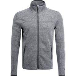 Kurtki sportowe męskie: Your Turn Active Kurtka z polaru mottled grey