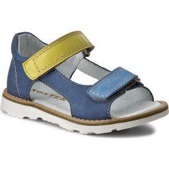 Sandały MIDO - 31-01 Jeans. Niebieskie sandały męskie skórzane marki Mido. W wyprzedaży za 149,00 zł.