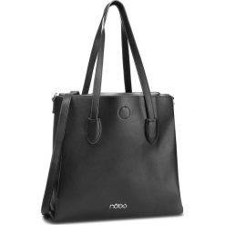 Torebka NOBO - NBAG-F0750-C020 Czarny. Czarne torebki klasyczne damskie marki Nobo, ze skóry ekologicznej. W wyprzedaży za 159,00 zł.