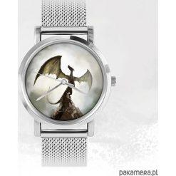Zegarki męskie: Zegarek - Smok cienia - metalowy