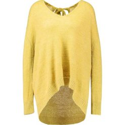 Swetry klasyczne damskie: Soaked in Luxury GALIA Sweter antique moss melange