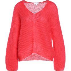 Escada Sport STALLONE Sweter raspberry. Czerwone swetry klasyczne damskie marki Escada Sport, m, z materiału. W wyprzedaży za 587,60 zł.