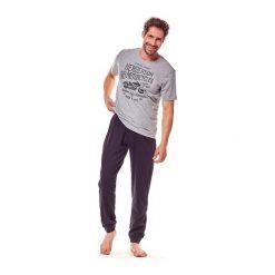 Piżama Force 36204-90X Szaro-czarna. Szare piżamy męskie marki Henderson. Za 104,50 zł.