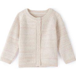 Swetry dziewczęce: Sweter rozpinany, 1-36 m-cy