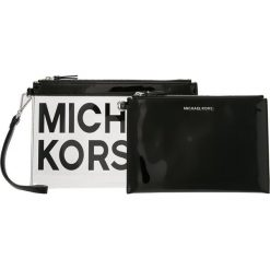 MICHAEL Michael Kors TRAVEL POUCH DUO Kopertówka clear/blk. Czarne puzderka MICHAEL Michael Kors. Za 399,00 zł.