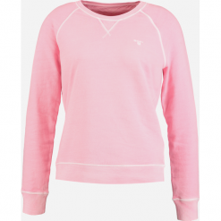 Bluzy damskie: GANT SUNBLEACHED C NECK  Bluza california pink