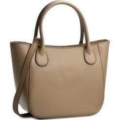 Torebka CREOLE - K10244 Ciemny Beż. Brązowe torebki klasyczne damskie Creole, ze skóry. W wyprzedaży za 189,00 zł.