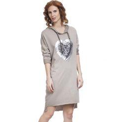 Sukienki: Sukienka w kolorze jasnobrązowym