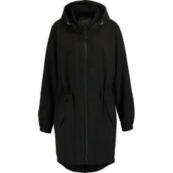 Płaszcze damskie: Zizzi Parka black solid