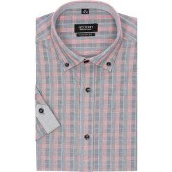 Koszula bexley 2302 krótki rękaw custom fit czerwony. Czerwone koszule męskie Recman, m, z krótkim rękawem. Za 29,99 zł.