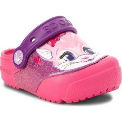 Klapki dziewczęce: Klapki CROCS – Fun Lab Lights Clog K 205000 Paradise Pink