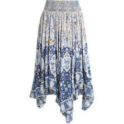 Free People ROAMING WILD MIDI SKIRT Długa spódnica indigo blue. Niebieskie długie spódnice Free People, l, z materiału. Za 619,00 zł.