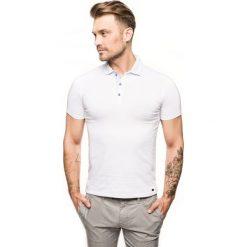 Koszulka polo racket biały. Białe koszulki polo Recman, m. Za 129,00 zł.