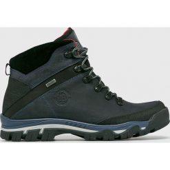 Badura - Buty. Czarne buty trekkingowe męskie Badura, z materiału, na sznurówki, outdoorowe. W wyprzedaży za 379,90 zł.