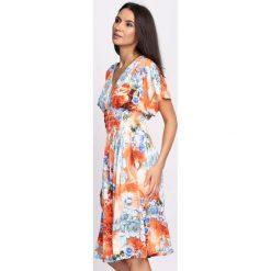 Sukienki: Pomarańczowa Sukienka Love Infinity