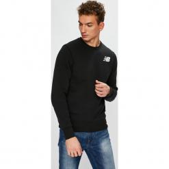 New Balance - Bluza. Czarne bluzy męskie rozpinane New Balance, l, z bawełny, bez kaptura. Za 199,90 zł.