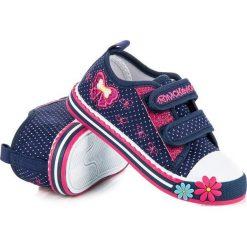 Trampki dla dziewczynki mckeylor McKeylor niebieskie. Niebieskie buty sportowe dziewczęce marki McKeylor. Za 49,90 zł.