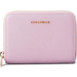 Portfele damskie: Duży Portfel Damski COCCINELLE – CW5 Metallic Soft E2 CW5 11 02 01 Graceful Pink P04