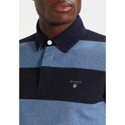 GANT THE ORIGINAL BARSTRIPE HEAVY RUGGER Koszulka polo denim blue melange. Niebieskie koszulki polo marki GANT. Za 419,00 zł.