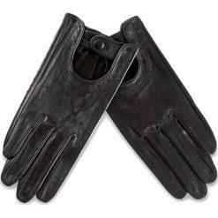 Rękawiczki Damskie WITTCHEN - 46-6L-292-1 S  Czarny. Czarne rękawiczki damskie Wittchen, ze skóry. W wyprzedaży za 139,00 zł.