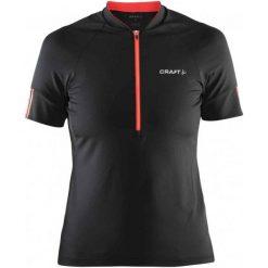 Bluzki sportowe damskie: Craft Koszulka Rowerowa Velo W Black S