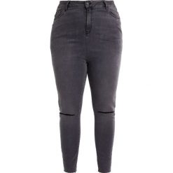 New Look Curves SHAPER Jeans Skinny Fit black. Szare jeansy damskie New Look Curves, z bawełny. W wyprzedaży za 125,40 zł.