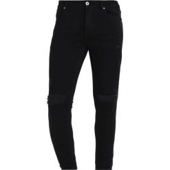 Jeansy męskie regular: Kings Will Dream LUMOR Jeans Skinny Fit black