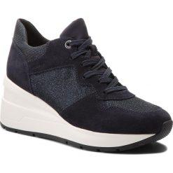 Sneakersy GEOX - D Zosma C D828LC 022EW C4002 Navy. Niebieskie sneakersy damskie Geox, z materiału. W wyprzedaży za 349,00 zł.