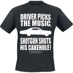T-shirty męskie z nadrukiem: Supernatural Shotgun Shuts T-Shirt czarny