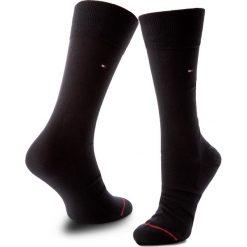 Skarpety Wysokie Męskie TOMMY HILFIGER - 352006001 Dark Navy 322. Czerwone skarpetki męskie marki Happy Socks, z bawełny. Za 44,00 zł.
