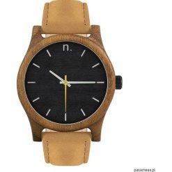 Drewniany zegarek męski classic 43 mm n013. Brązowe zegarki męskie Pakamera. Za 339,00 zł.