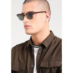 RayBan CLUBMASTER Okulary przeciwsłoneczne braun/goldfarben. Brązowe okulary przeciwsłoneczne damskie aviatory Ray-Ban. Za 779,00 zł.