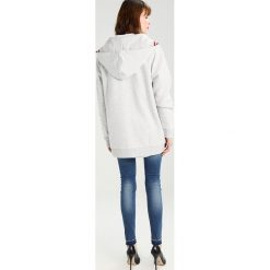 Tommy Jeans Bluza rozpinana grey. Szare bluzy rozpinane damskie Tommy Jeans, l, z bawełny. W wyprzedaży za 419,30 zł.