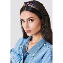 NA-KD Accessories Kolorowa opaska do włosów - Multicolor. Szare ozdoby do włosów NA-KD Accessories. W wyprzedaży za 20,48 zł.
