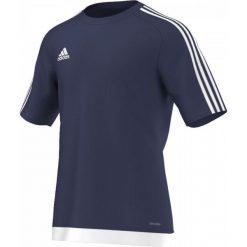 Koszulki do piłki nożnej męskie: Adidas Koszulka piłkarska męskie Estro 15 granatowo-biała r. M (S16150)