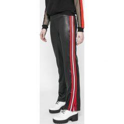 Answear - Legginsy Sporty Fusion. Szare legginsy ANSWEAR, z dzianiny. W wyprzedaży za 69,90 zł.