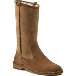 Kozaki UGG - W Daphne 1008705 Che. Szare buty zimowe damskie marki Ugg, z materiału, z okrągłym noskiem. W wyprzedaży za 499,00 zł.