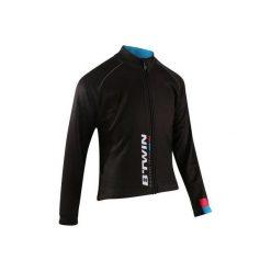 Bluza na rower 500. Czarne bluzy chłopięce rozpinane marki B'TWIN. Za 149,99 zł.