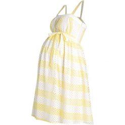 Sukienki hiszpanki: mint&berry mom Sukienka letnia pale banana