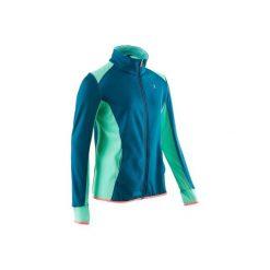 Bluza S900. Niebieskie bluzy dziewczęce rozpinane DOMYOS. Za 59,99 zł.