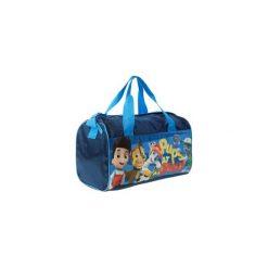 Torby podróżne: torba sportowa z printem, z paskiem 38x20x22cm Psi Patrol