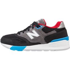 New Balance ML597 Tenisówki i Trampki mottled dark grey. Szare tenisówki damskie New Balance, z materiału. W wyprzedaży za 335,20 zł.