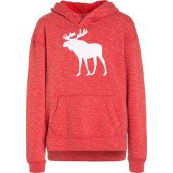 Abercrombie & Fitch CORE Bluza z kapturem red. Czerwone bluzy chłopięce rozpinane Abercrombie & Fitch, z bawełny, z kapturem. W wyprzedaży za 125,30 zł.