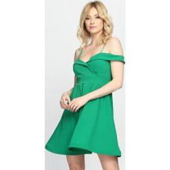 Sukienki: Zielona Sukienka Party Favors