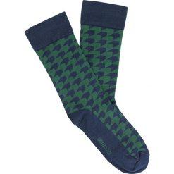 Skarpety enzo zielony. Zielone skarpetki męskie marki Hummel, z bawełny. Za 19,00 zł.