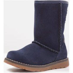 Superfit EMMA Śniegowce ocean. Niebieskie buty zimowe damskie marki Superfit, z materiału. W wyprzedaży za 303,20 zł.