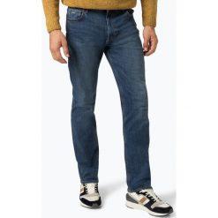BOSS Casual - Jeansy męskie – 050 Albany, niebieski. Niebieskie jeansy męskie relaxed fit BOSS Casual. Za 399,95 zł.