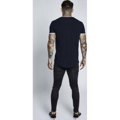 T-shirty męskie z nadrukiem: SIKSILK SHORT SLEEVE GYM TEE Tshirt z nadrukiem dark navy blue
