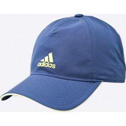 Adidas Performance - Czapka. Szare czapki z daszkiem damskie adidas Performance, z elastanu. W wyprzedaży za 59,90 zł.